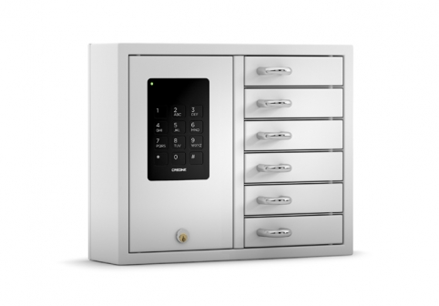 Klíčový deposit Keybox- 9006 S Battery backup 1
